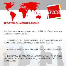 Politiche di immigrazione Cgil Chieti